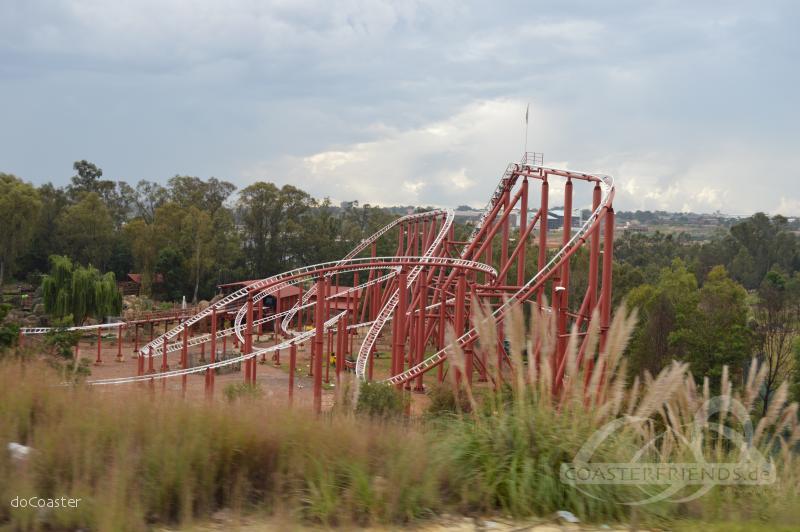 Jozi Express im Park Gold Reef City Impressionen