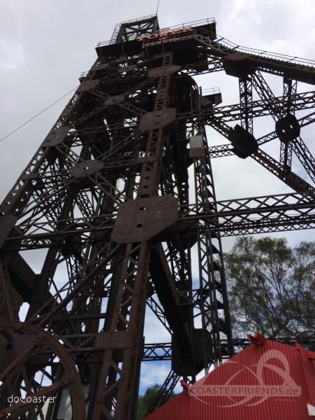 Tower of Terror im Park Gold Reef City Impressionen