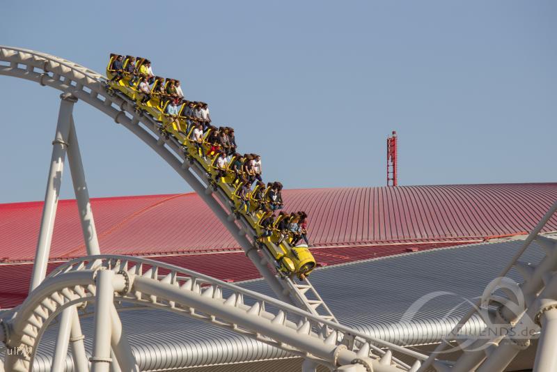 Flying Aces im Park Ferrari World Abu Dhabi Impressionen