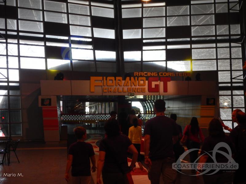 Fiorano GT Challenge (Track Links) im Park Ferrari World Abu Dhabi Impressionen