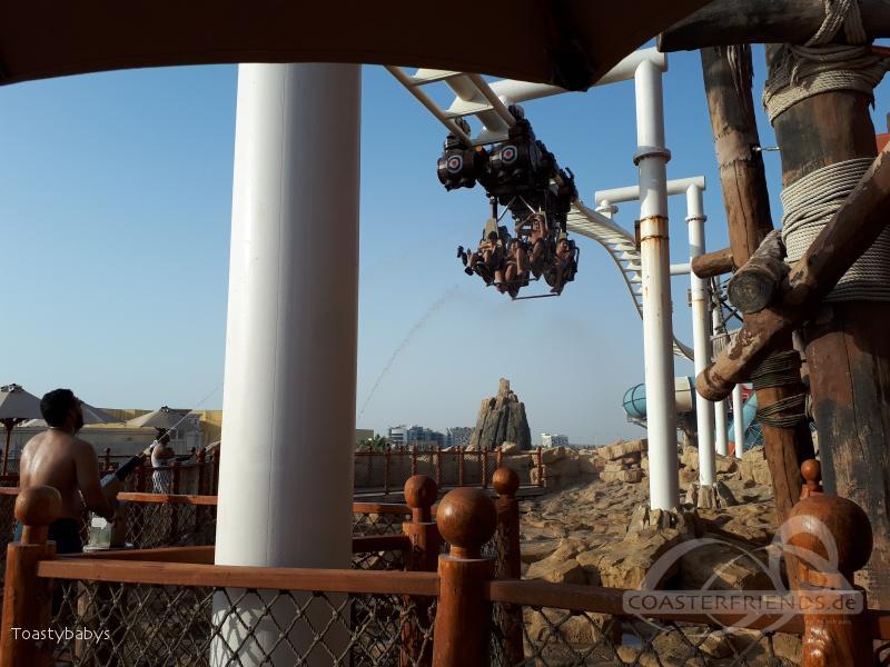 Bandit Bomber im Park Yas Waterworld Impressionen