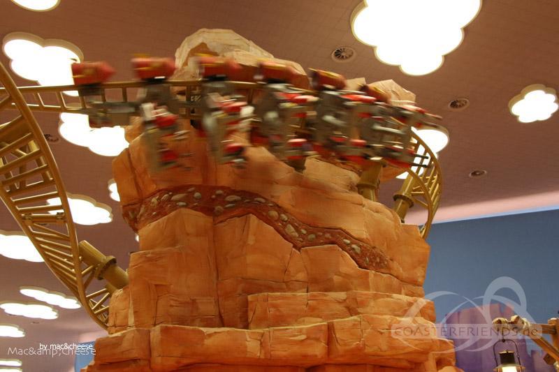 Fast and Furry-ous im Park Warner Bros. World Abu Dhabi Impressionen