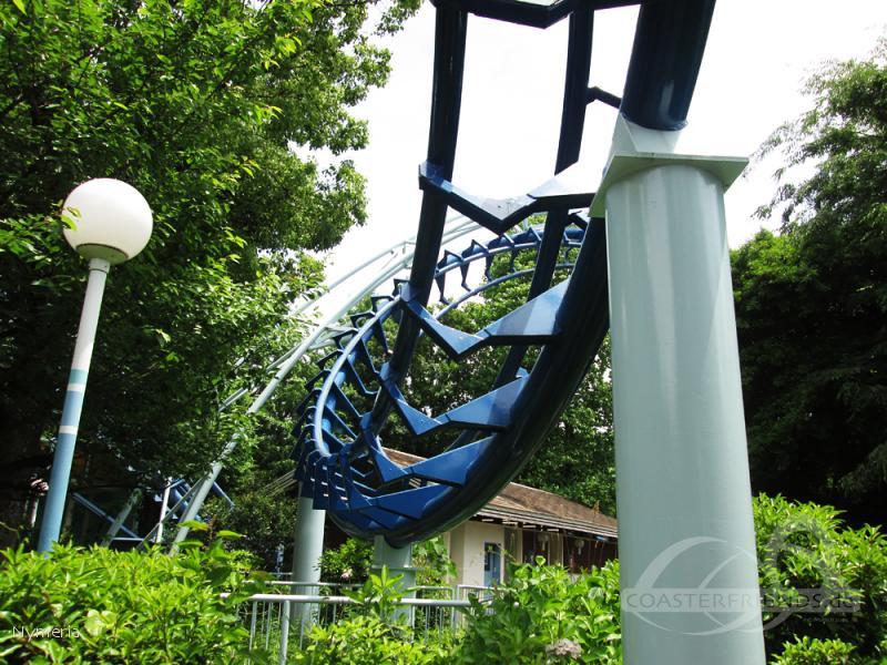 Corkscrew im Park Toshimaen Impressionen