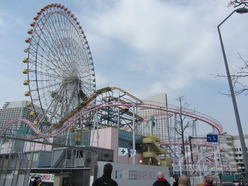 Diving Coaster: Vanish im Park Yokohama Cosmoworld Impressionen