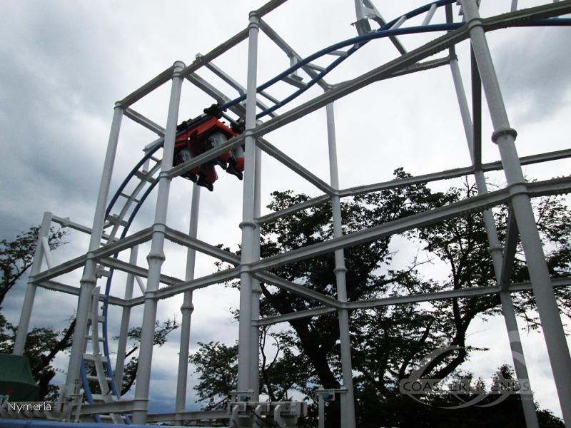 Twist Coaster Robin im Park Yomiuriland Impressionen