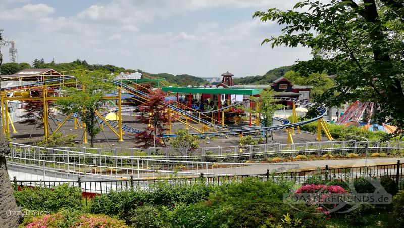 Wan Wan Coaster Wandit im Park Yomiuriland Impressionen
