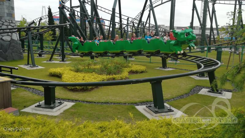Dragon's Apprentice im Park Legoland Japan Impressionen