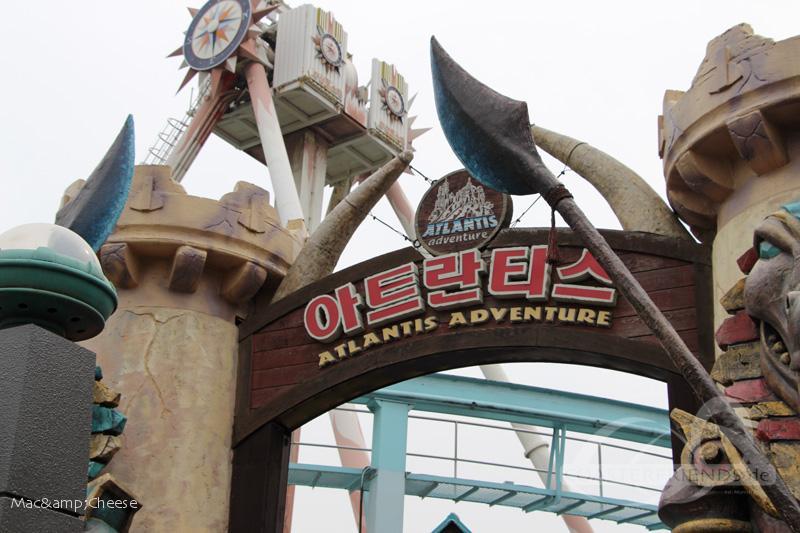 Atlantis Adventure im Park Lotte World Impressionen