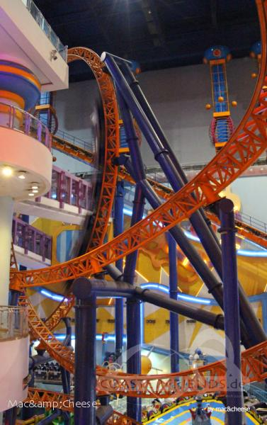 Supersonic Odyssey im Park Berjaya Times Square Theme Park Impressionen