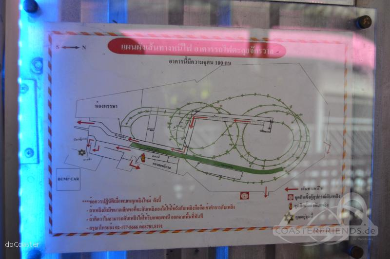 Black Hole Coaster (ehemals Space Mountain) im Park Dream World Impressionen