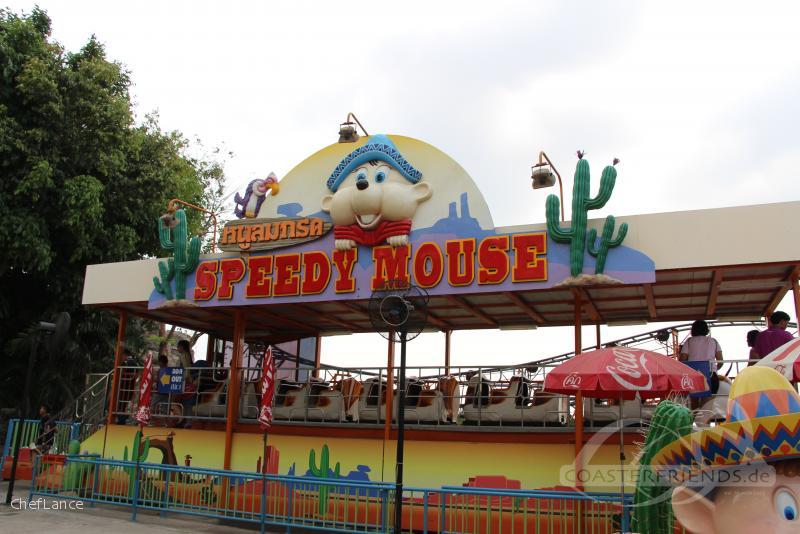 Speedy Mouse im Park Dream World Impressionen
