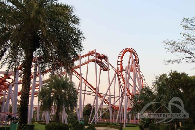 Vortex im Park Siam Park City Impressionen