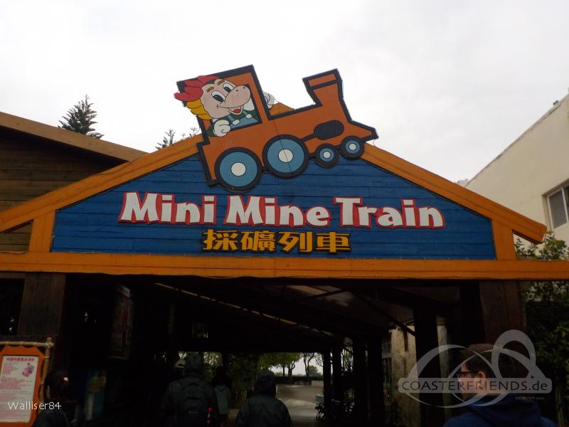 Mini Mine Train im Park Window on China Theme Park Impressionen