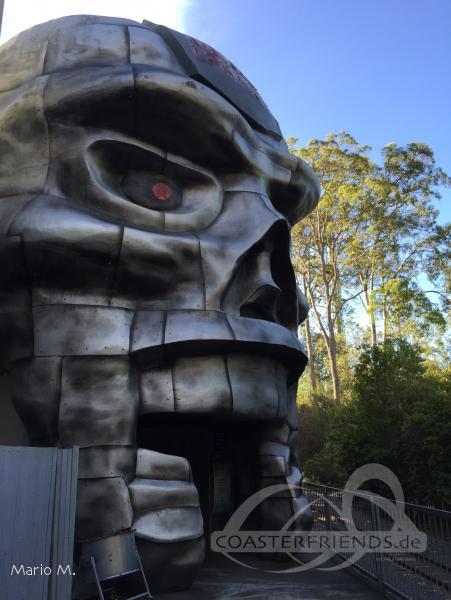 Tower of Terror II im Park Dreamworld Impressionen