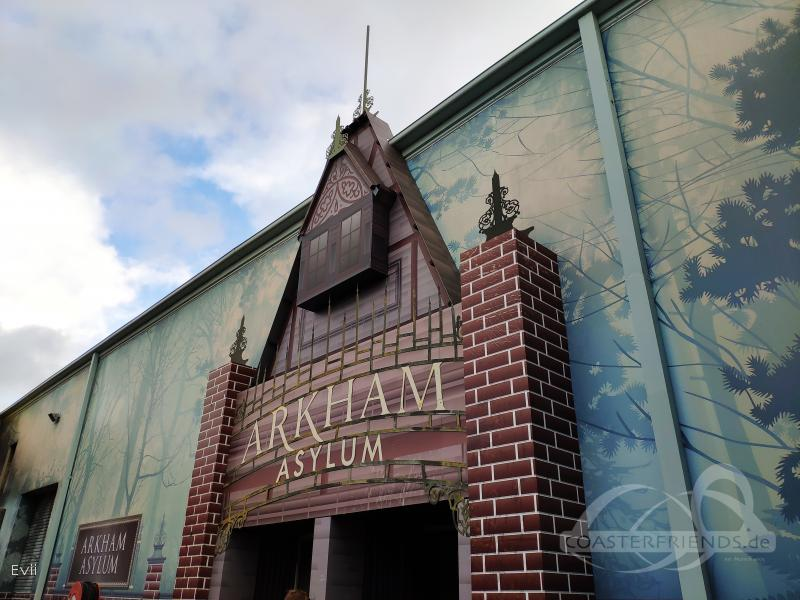 Arkham Asylum - Shock Therapy im Park Warner Bros. Movie World Impressionen