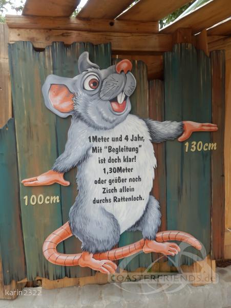 Rattenmühle im Park Familypark Impressionen