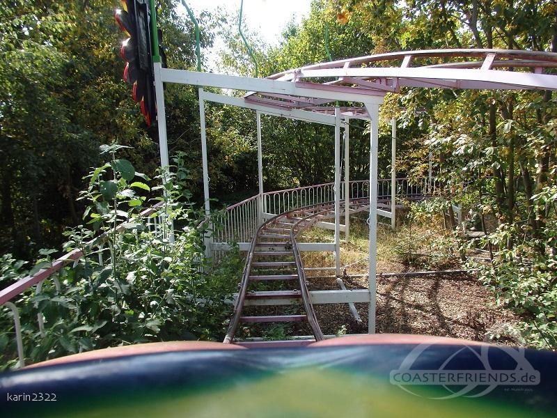 Familienachterbahn im Park Jagdmärchenpark Hirschalm Impressionen
