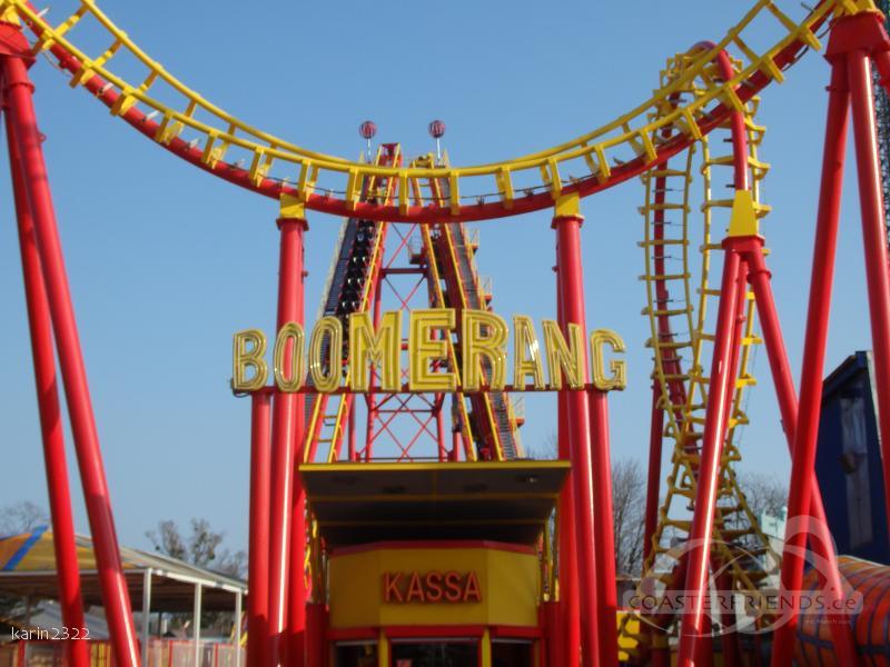 Boomerang im Park Wiener Prater Impressionen