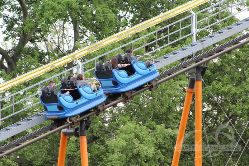 Super 8er Bahn im Park Wiener Prater Impressionen
