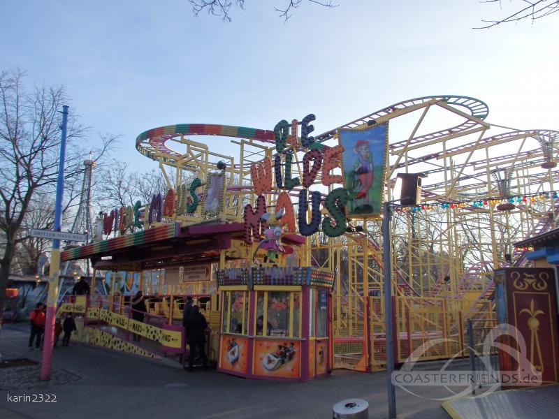 Wilde Maus im Park Wiener Prater Impressionen