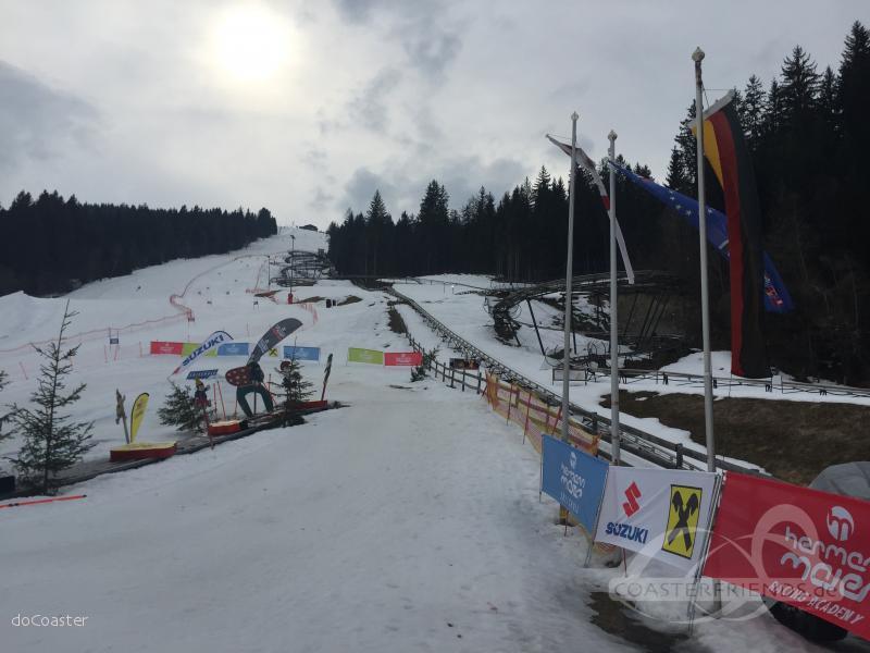 Lucky Flitzer im Park Alpine Coaster Rodelbahn GmbH Impressionen
