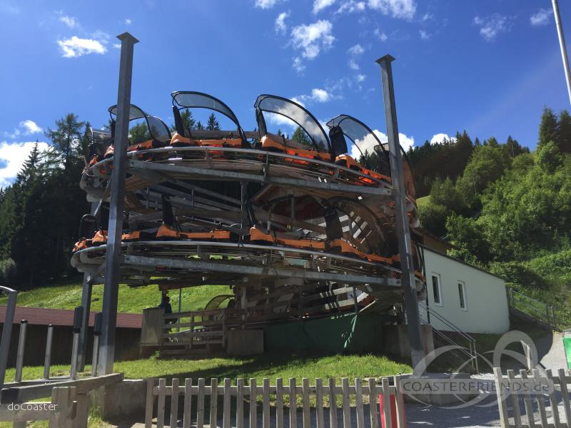 Rittisberg Coaster im Park Erlebnis Rittisberg Impressionen