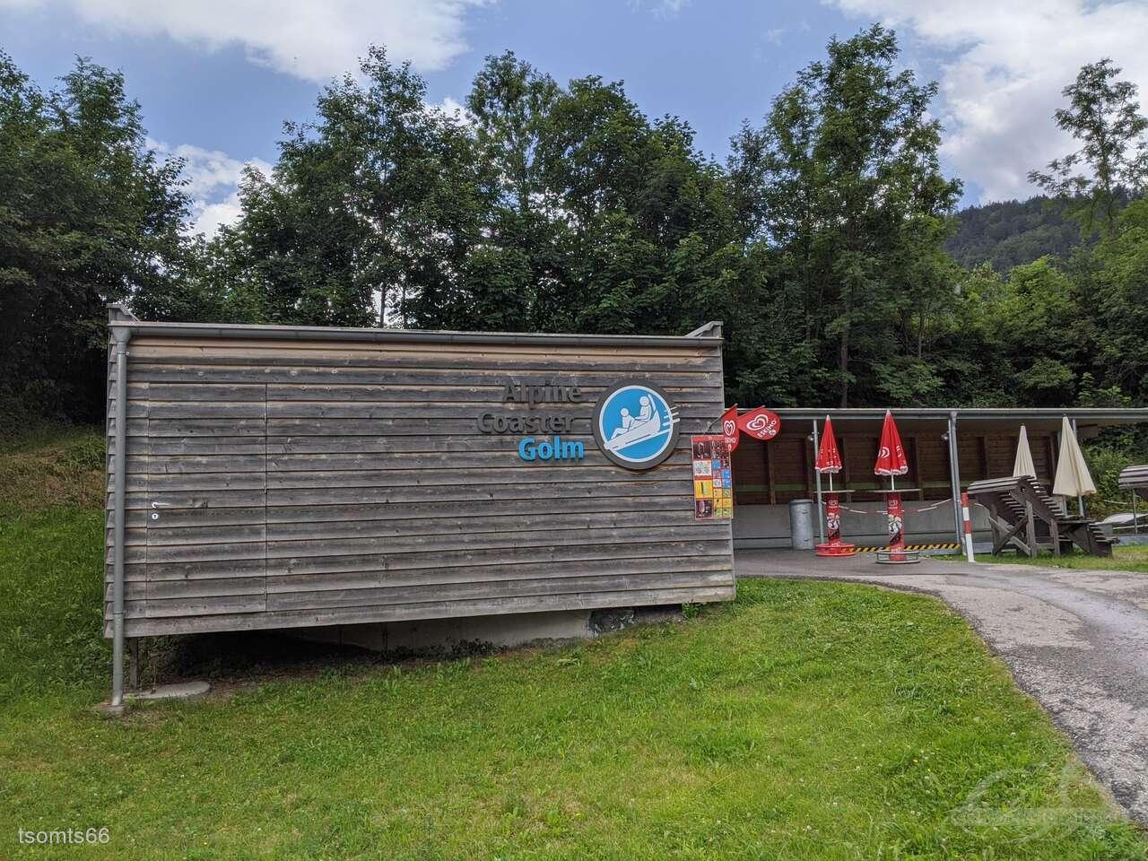 Alpine-Coaster im Park Golmerbahn Impressionen