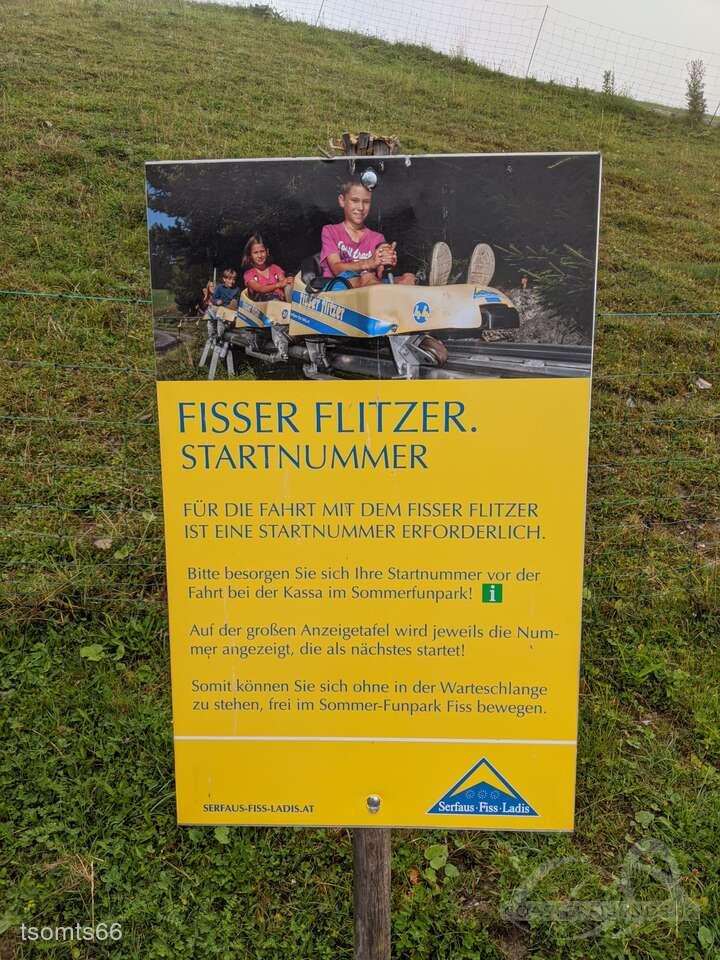 Fisser Flitzer im Park Sommer Funpark Fiss Impressionen