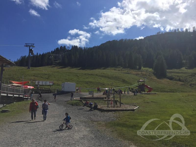 Sommerrodelbahn Nassfeld im Park Sonnenalpe Nassfeld Impressionen