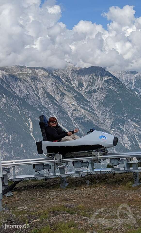 Venet Bob im Park Venet Bergbahnen Impressionen