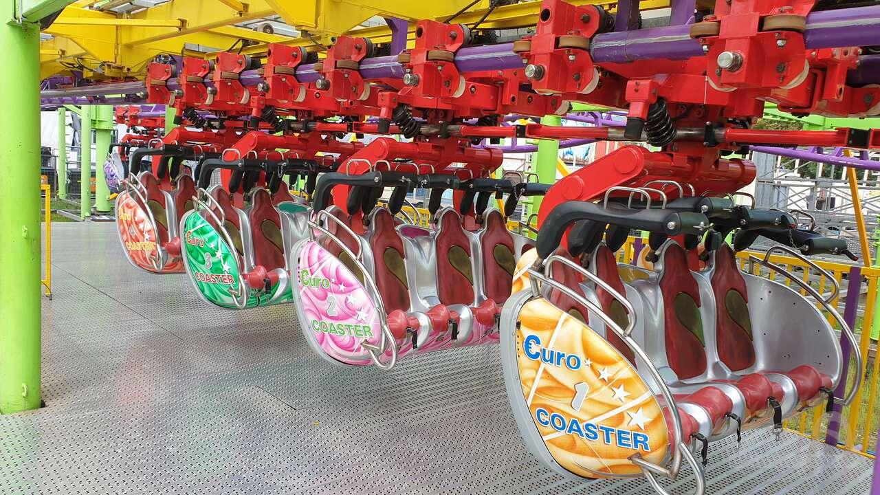 Euro Coaster im Park Wiener Prater Impressionen