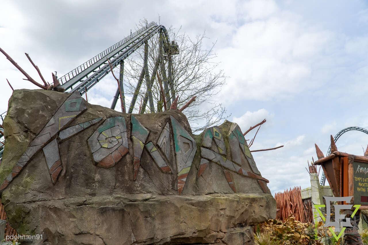 Kondaa im Park Walibi Belgium Impressionen