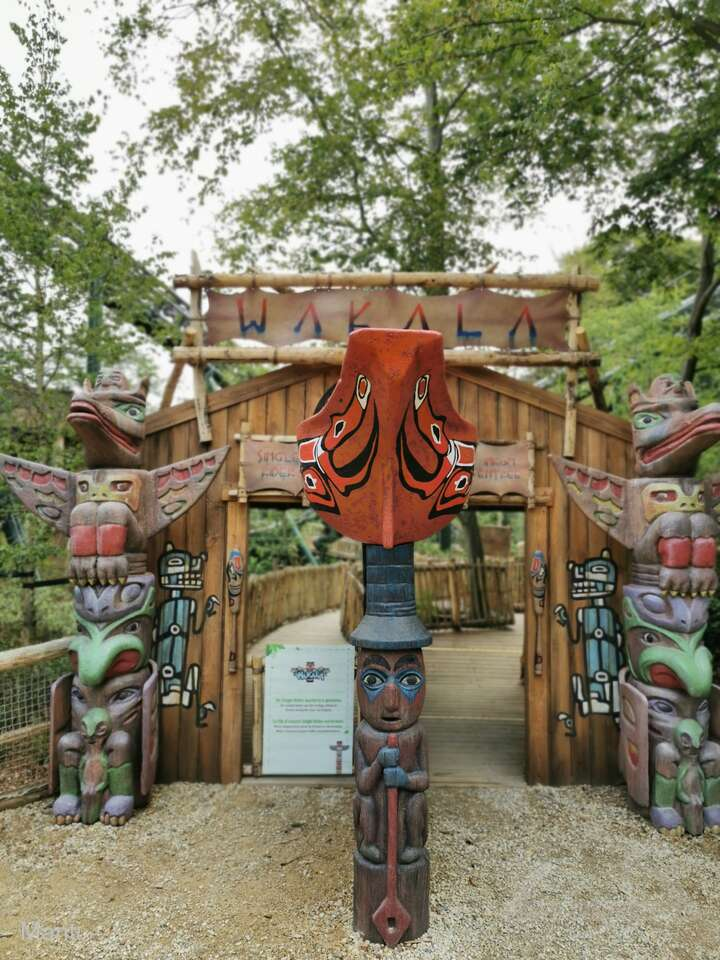 Wakala im Park Bellewaerde Impressionen