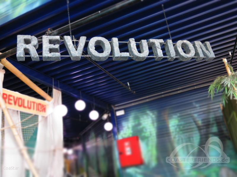 Revolution im Park Bobbejaanland Impressionen
