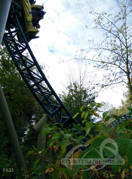 Anubis: The Ride im Park Plopsaland De Panne Impressionen
