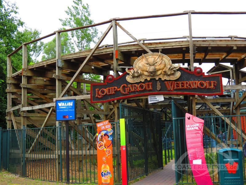 Loup-Garou im Park Walibi Belgium Impressionen
