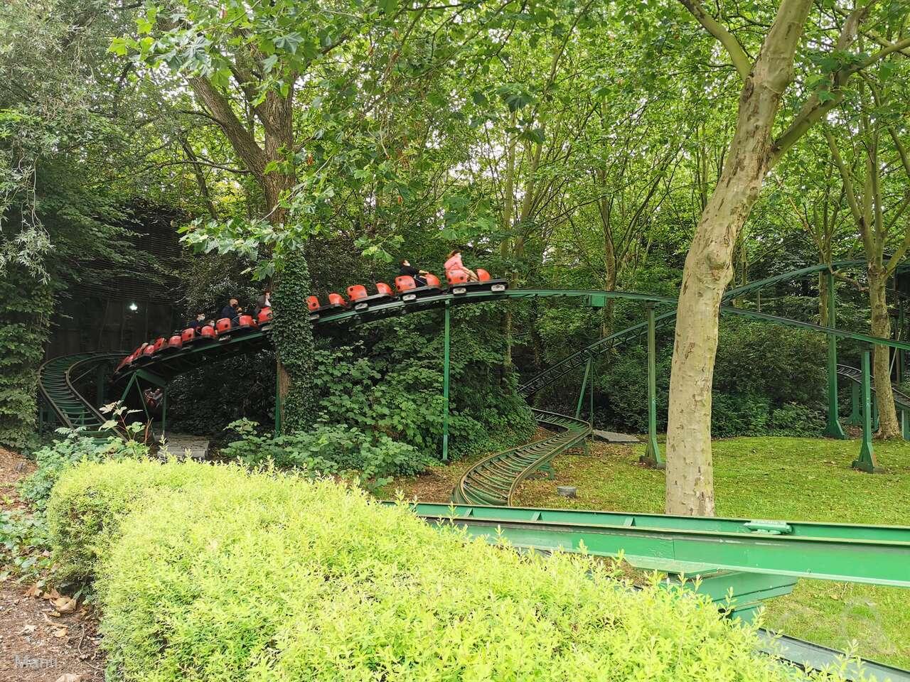 Keverbaan im Park Bellewaerde Impressionen