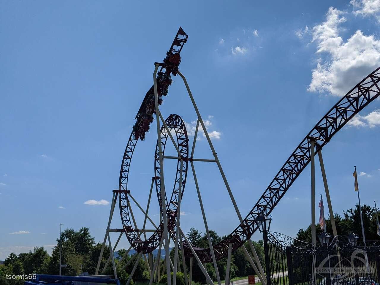 Cobra im Park Conny-Land Impressionen