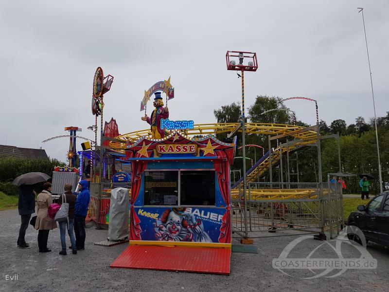 Crazy Clown im Park Bauer Mobile Entertainment Impressionen