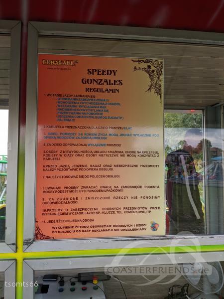 Speedy Gonzales im Park Lunapark Jan Novy Impressionen