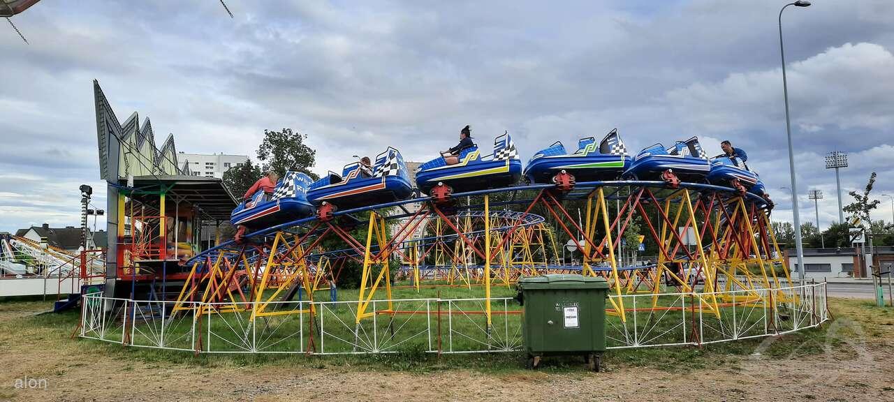 Wild Ride (Roller Coaster) im Park Lagron, Marek Impressionen