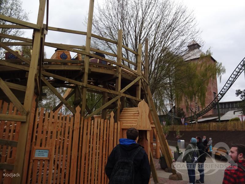 Kleine Zar im Park Hansa Park Impressionen