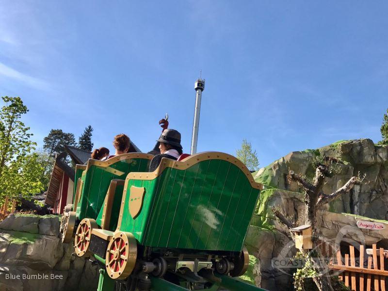 Ba-a-a-Express im Park Europa Park Impressionen