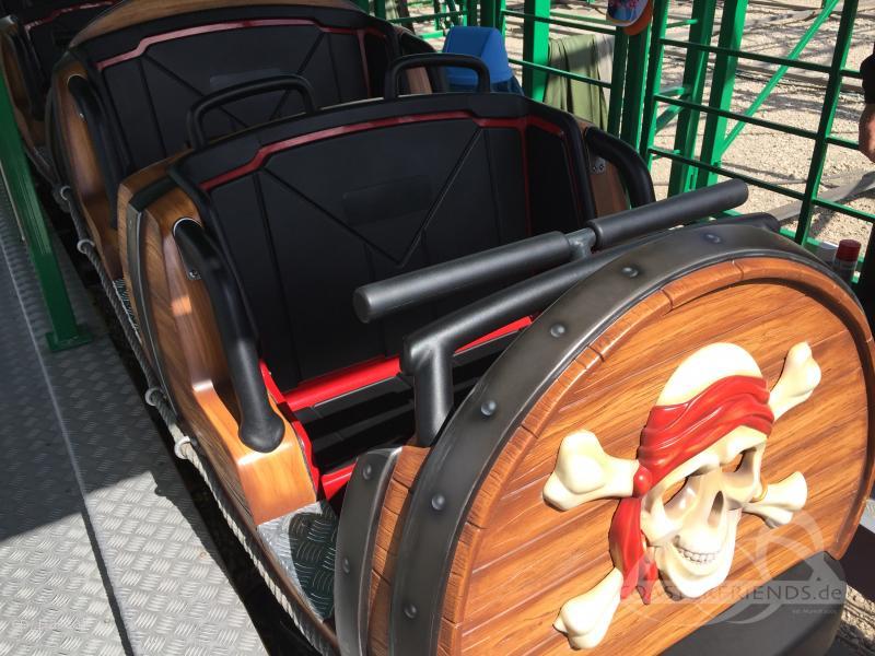 Käpt'n Jack's Wilde Maus im Park Eifelpark Impressionen