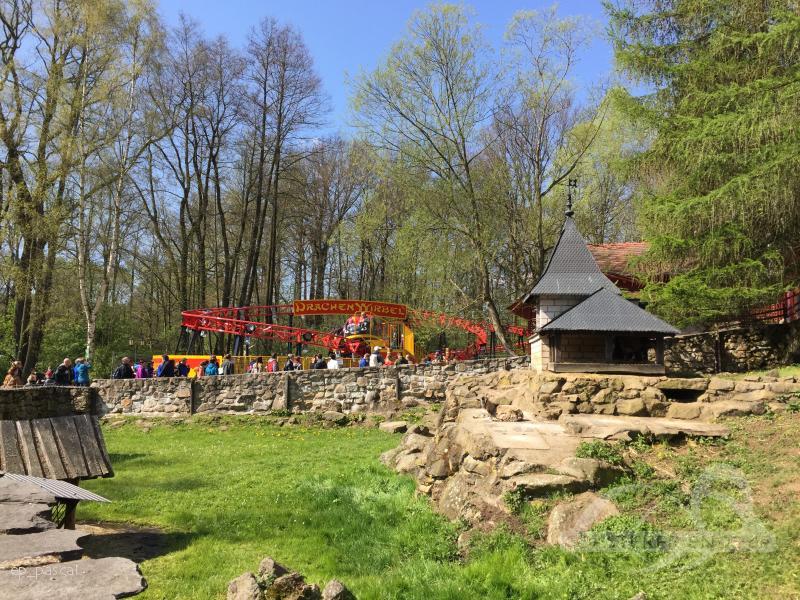 Drachenwirbel im Park Freizeitpark Plohn Impressionen
