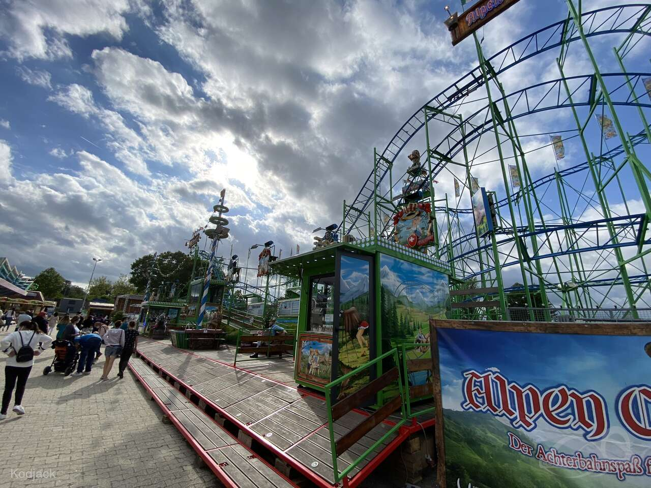Alpen Coaster im Park Vorlop Lutz Impressionen