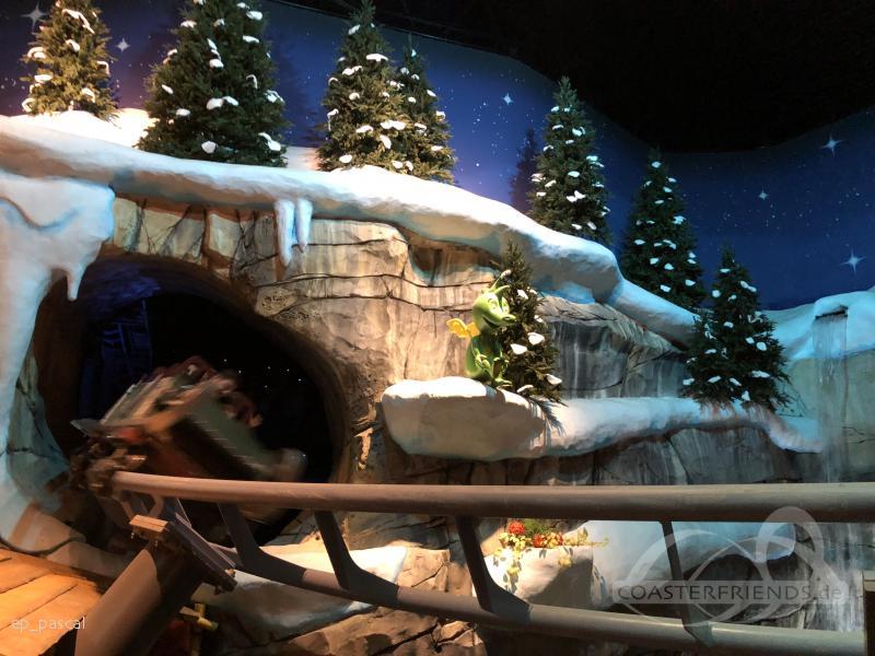 Tabalugas Achterbahn im Park Holiday Park Impressionen