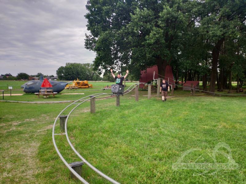 Loren-Express im Park Holleshof Impressionen
