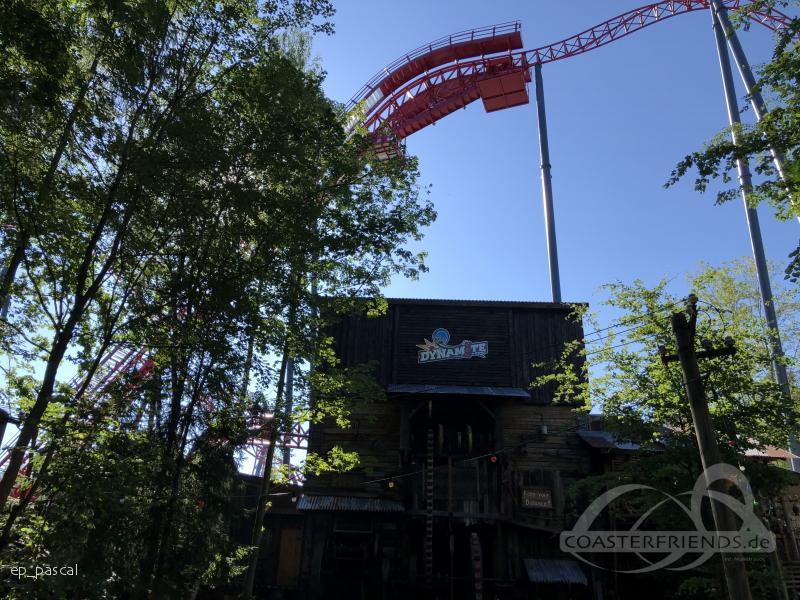 Dynamite im Park Freizeitpark Plohn Impressionen