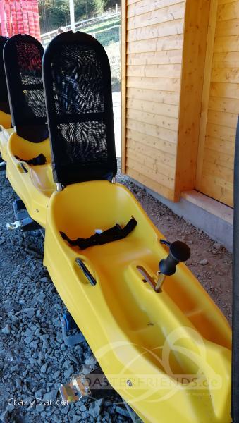 Herrloh Blitz im Park Skiliftkarussell Winterberg Impressionen